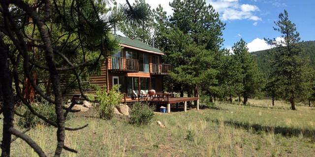 Historic property borders national forest near salida c Cabins buena vista co