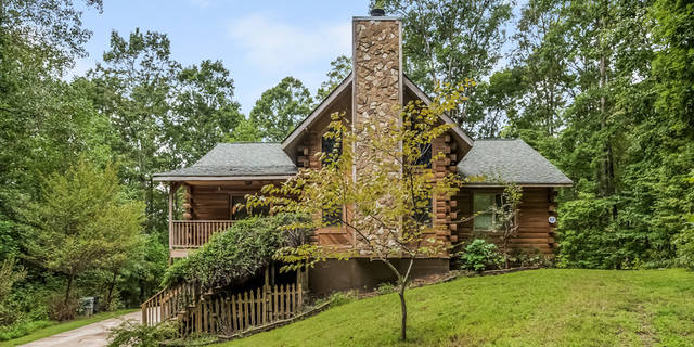 Fantastic Log Cabin Home For Sale In Dallas Ga Home Interior And Landscaping Ponolsignezvosmurscom