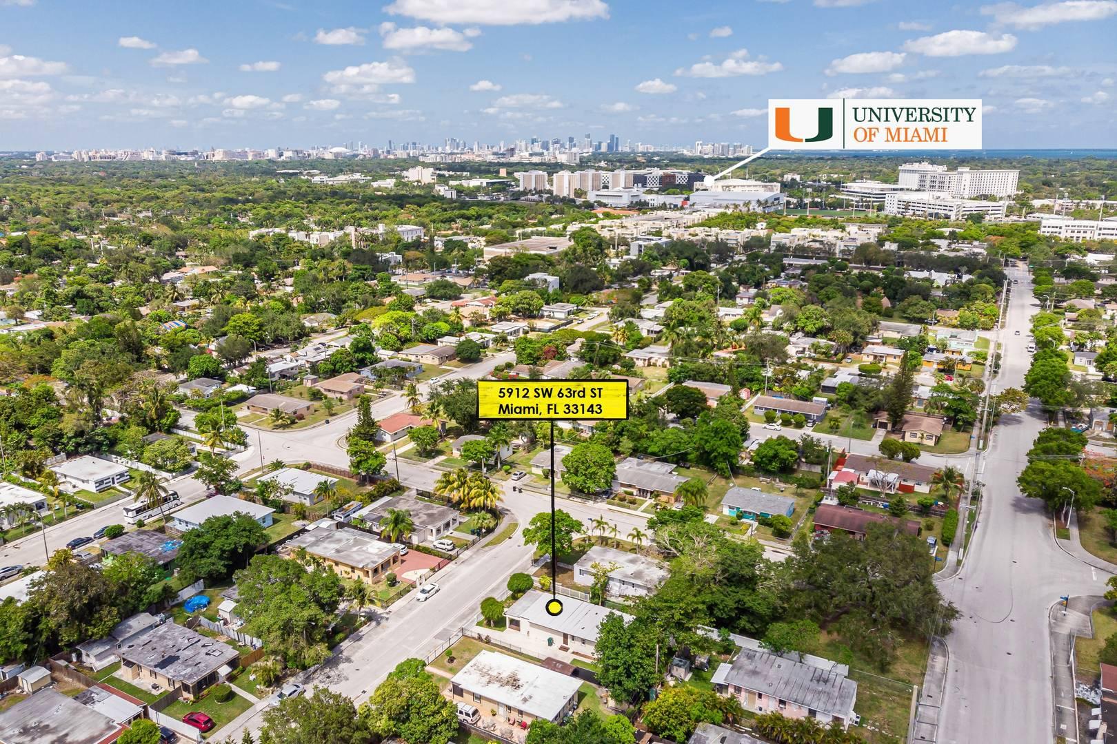 5912 Southwest 63rd Street South Miami, FL 33143